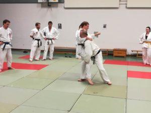 Jubiläumstraining - 30 Jahre Ju-Jutsu beim SC Heuchelhof